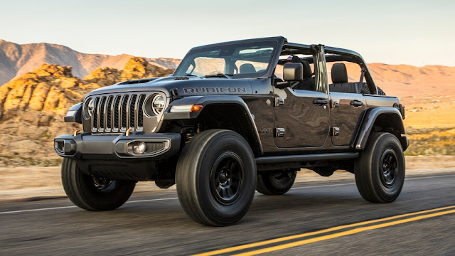 Jeep Wrangler Rubicon 392 2021 года. Первый взгляд: Heckcat Wrangler V-8 уже здесь!