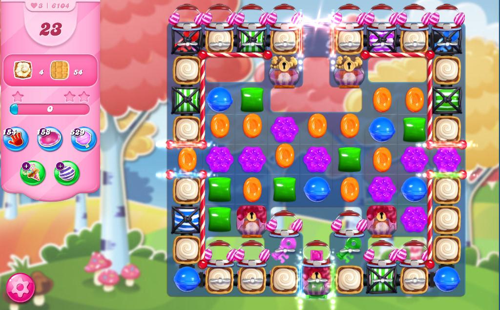 Candy Crush Saga level 6104