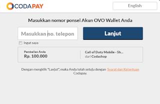 Cara memasukan voucher game Call of Duty Mobile