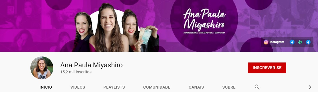 Ana Paula | Youtube