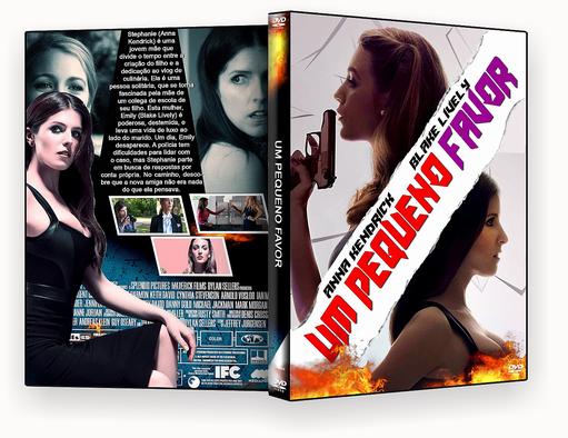 CAPA DVD – Um.Pequeno.Favor.2018 – ISO