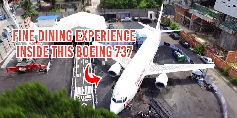 'Fine-Dining' Yang Mengujakan Di Plane In The City