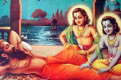 Sandipani Balarama and Krishna