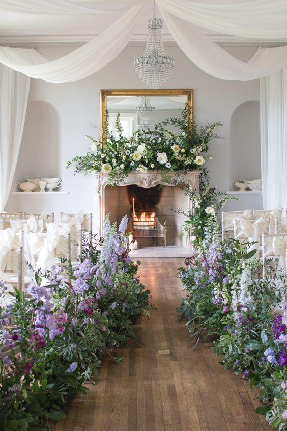 ideas deco para el altar de boda civil - it's my valentine