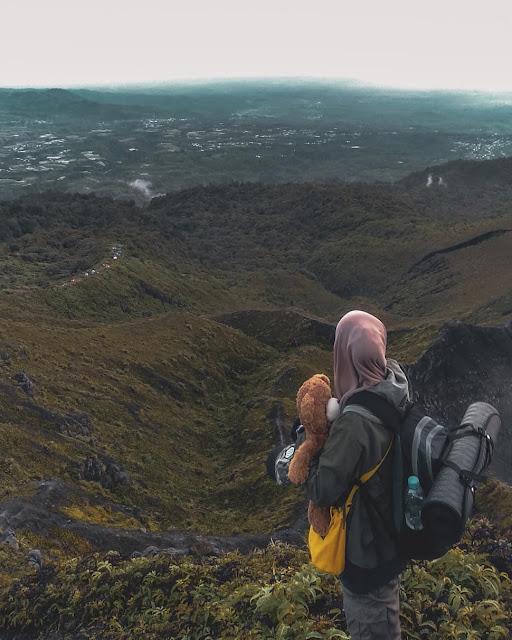 kaba hill bengkulu indonesia