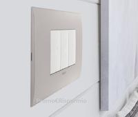 Vimar : richiedi gratis un campione omaggio Fit Arké, la nuova placca per l'energia elettrica di casa