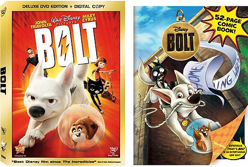 Blu Ray Dvd Exclusives Bolt Walmart Exclusive Comic Book Dvd