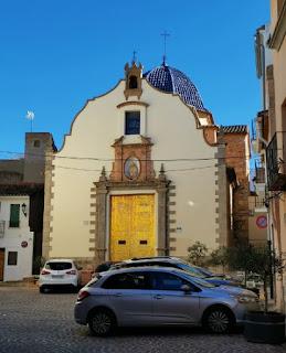 Ermita de la Sangre, Sagunto. Ermita de la Sang, Sagunt.