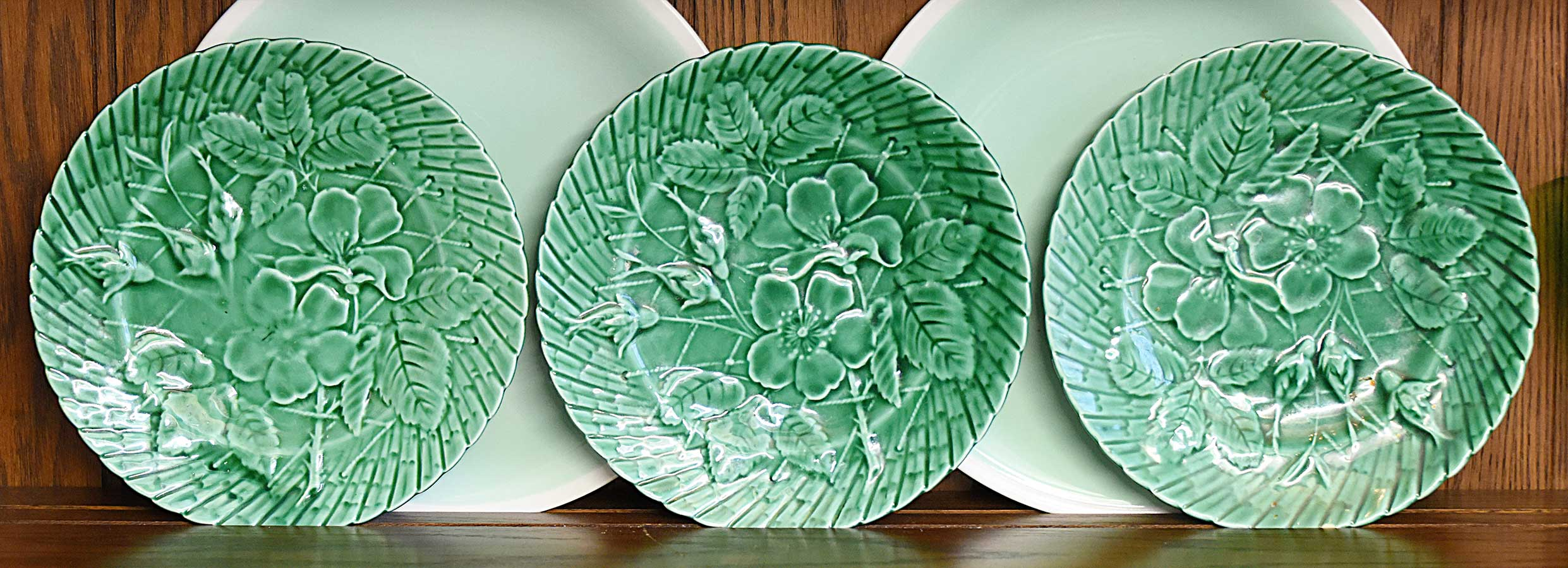 Green Majolica from France