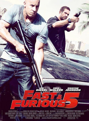 Fast Five (The Fast And The Furious 5) 2011 DVD R1 NTSC Latino