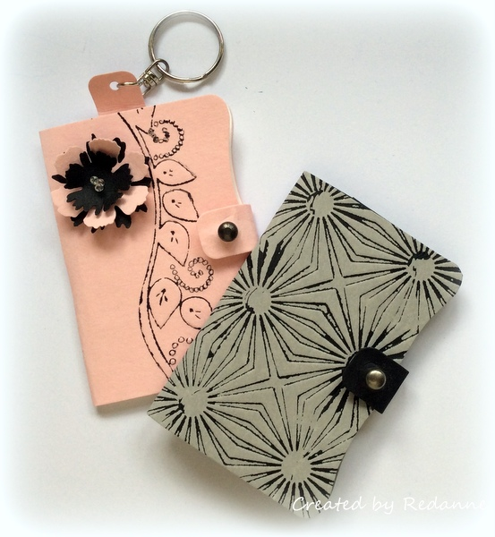 Redanne Sizzix Inksheets And Leather Paper Sheets