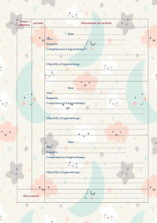 document Word du cahier journal