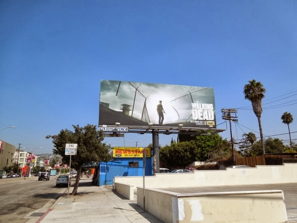 Walking Dead season 4 billboard
