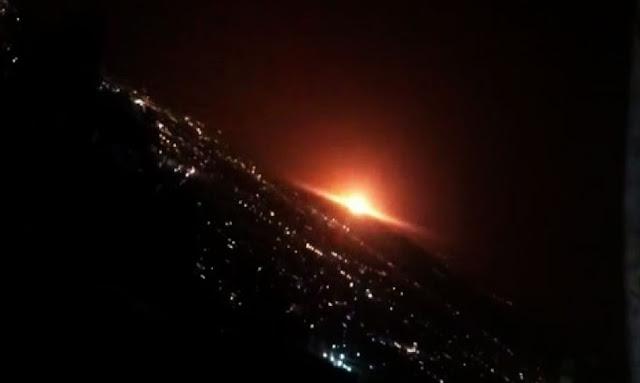 """إيران تعلن انفجار أحد خزانات الغاز شرقي العاصمة طهران """"لا خسائر بشرية"""""""