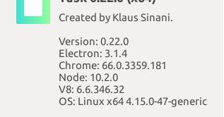 Aplikasi Tusk, Pengganti Evernote di Linux Ubuntu | Dony