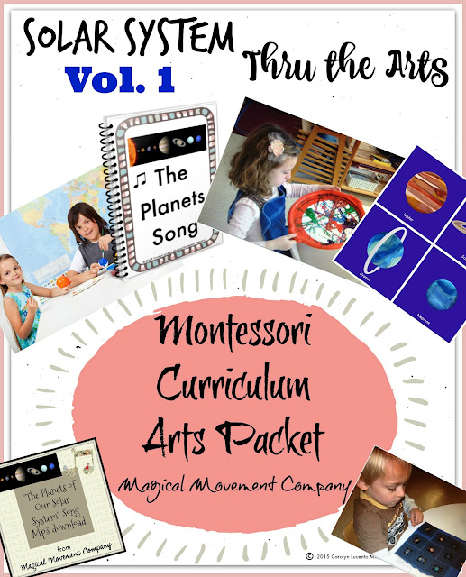 Our Solar SystemPart 1: Montessori Curriculum Arts and a