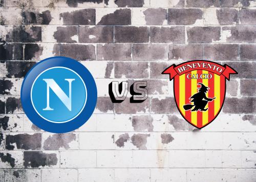 Napoli vs Benevento  Resumen