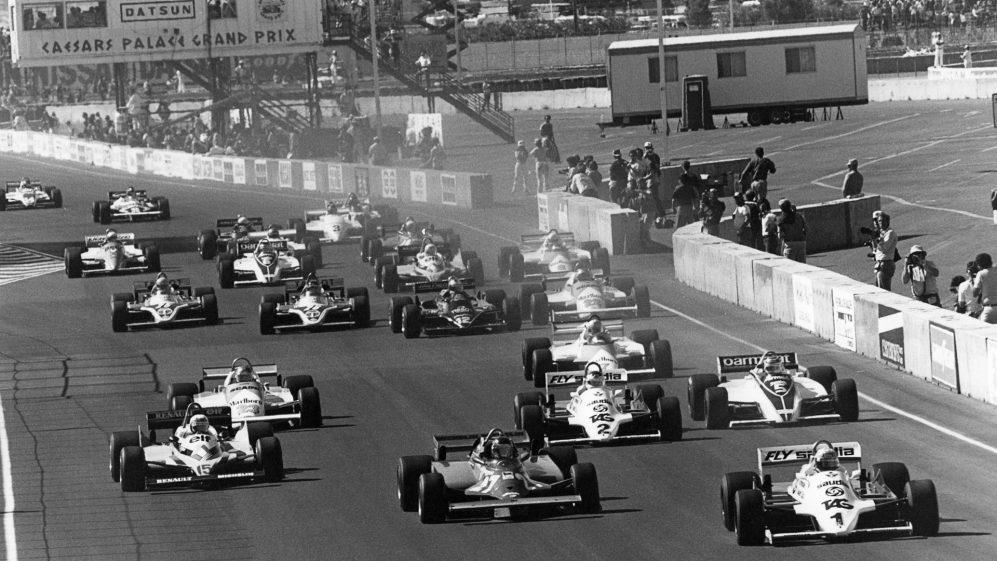Sin City sediou dois Grands Prix no estacionamento do Caesars Palace, em 1981 e '82