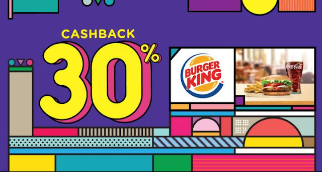 #BurgerKing - #Promo Cashback 30% Hingga 12K Pakai OVO (s.d 31 Jan 2020)