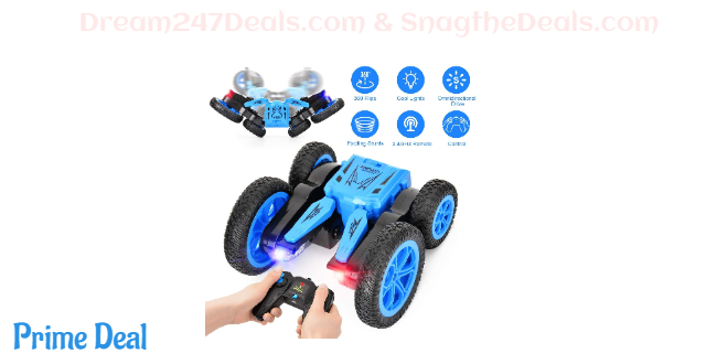 50% OFF Remote Control Car RC Stunt Car Toy for Kids