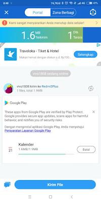 cara mengirim file lewat shareit versi baru
