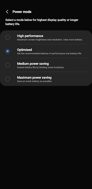 Battery saving tips