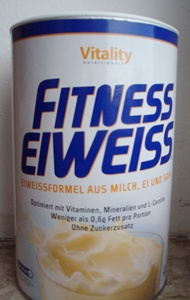 Vitality Nutritionals Fitness Eiweiss