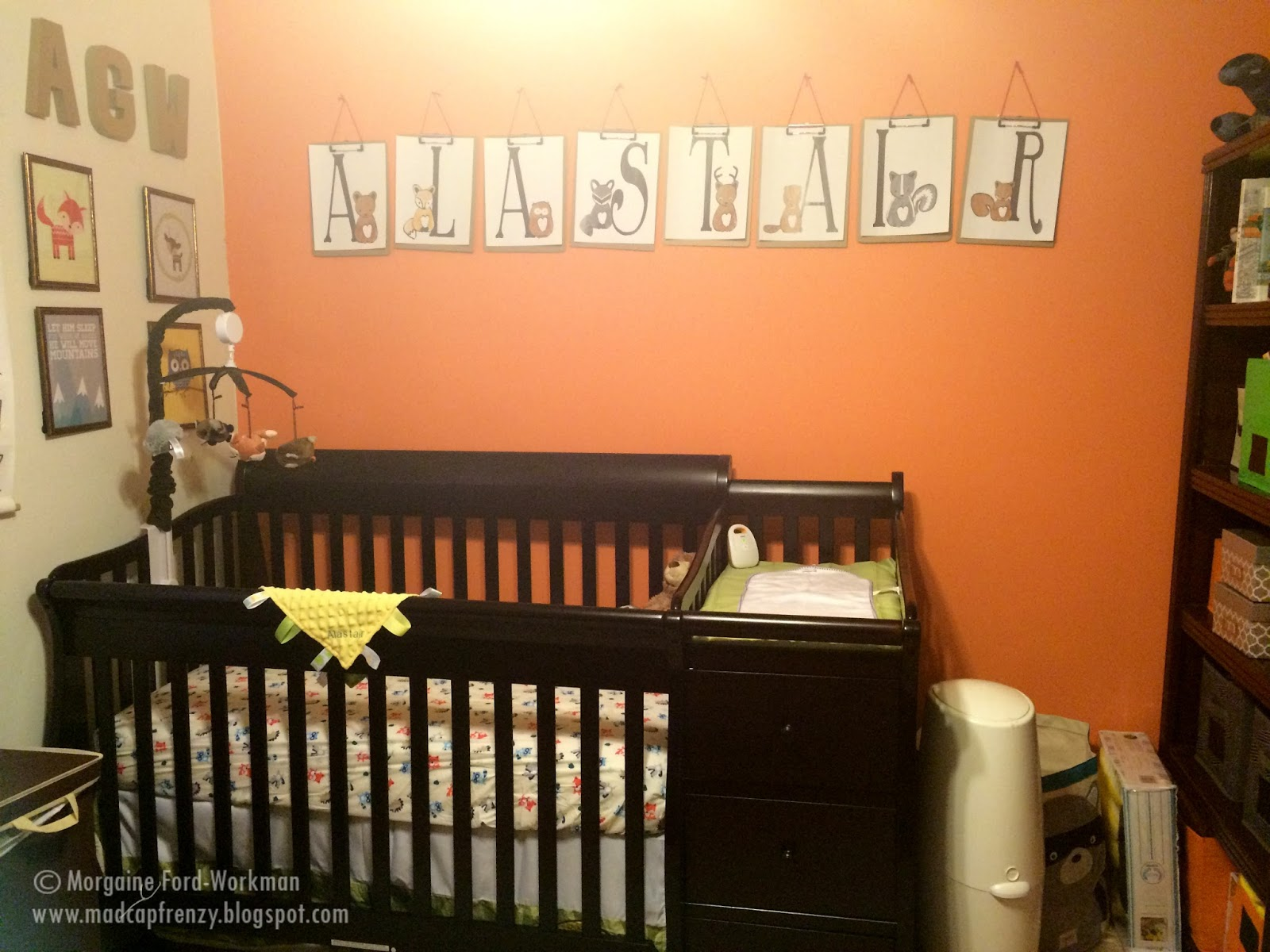 Everything Designish Baby Boy S Nursery: Madcap Frenzy: Graphic Design, DIY And Everything In