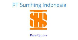 Lowongan Kerja Cikarang PT Sumhing Indonesia Jababeka Plant Terbaru