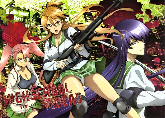 High School Of The Dead - Vol.4