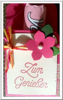 Joghuretten-Verpackung, SU Stanze Kleine Blüte, Eckenabrunder, SU Stempel
