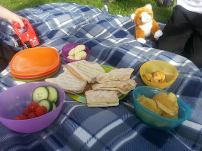 A nice easy picnic lunch