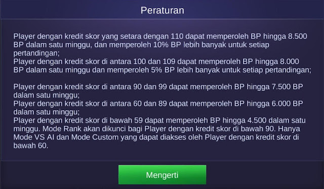 Cara Mendapatkan Max Battle Point di Mobile Legends