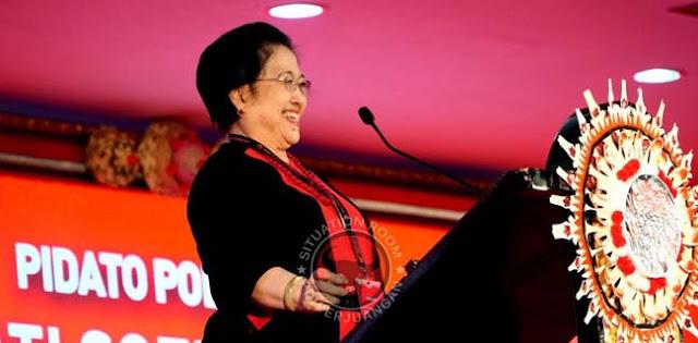 Resmi! Megawati Soekarnoputri Ketum PDI Perjuangan 2019-2024