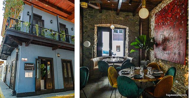 Comer no Panamá, Restaurante Laboratório Madrigal