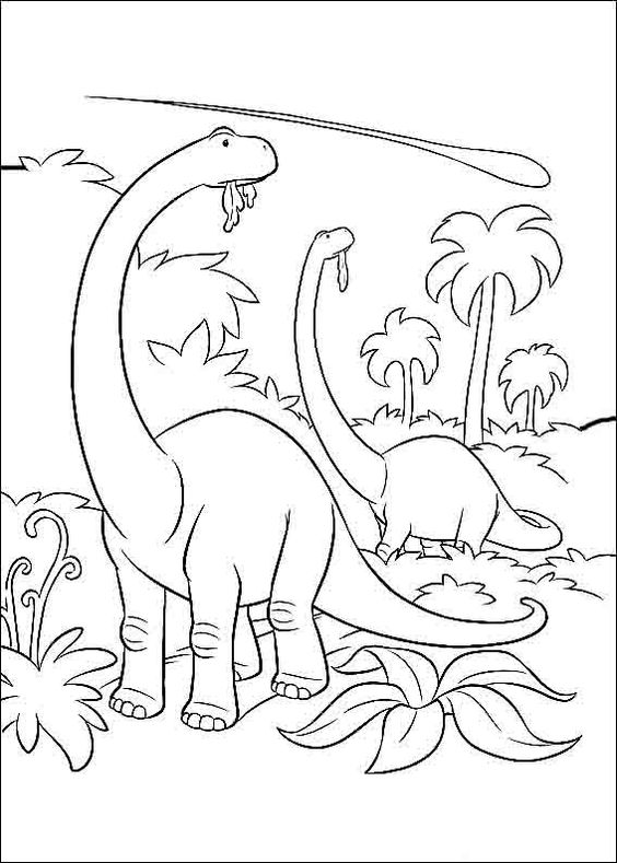 Dinosaurs coloring pages 30