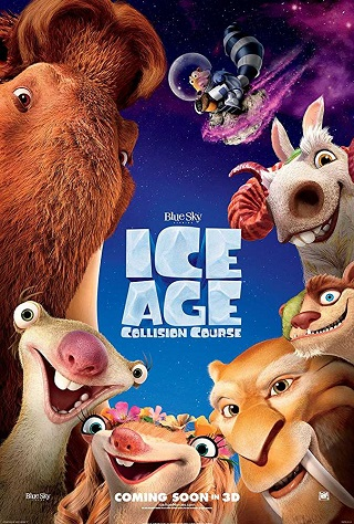 Ice Age Collision Course 2016 Dual Audio Hindi 300MB BluRay ESubs 480p