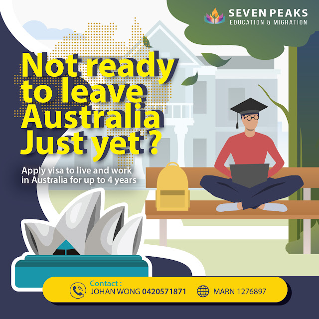 NOT READY TO LEAVE AUSTRALIA JUST YET?