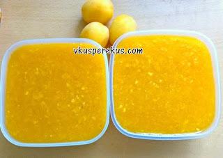абрикосовый джем заморозка