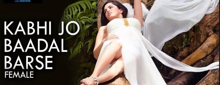 """Kabhi Jo Badal Barse Mp3 & Lyrics (कभी जो बादल बरसे) - Jackpot - Sunny Leone - Nasruddin Shah - Shreya Ghoshal, Presenting the full audio of the song """"Kabhi Jo Badal Barse"""" - the female version is sung by Shreya Ghoshal. This romantic track is from the movie Jackpot starring Sunny Leone, Sachin J. Joshi & Nasruddin Shah.    Song: Kabhi Jo Baadal Barse  Movie: Jackpot  Singer: Shreya Ghoshal  Music: Sharib, Toshi  Starcast: Sunny Leone, Sachin J. Joshi, Nasruddin Shah, Others  Lyrics: Turaz, Azeem Shirazi  Music On T-Series, Mp3 Download, Kabhi Jo Badal Barse - Jackpot  - Lyrics    Kabhi jo baadal barse  Main dekhoon tujhe aankhein bharke  Tu lage mujhe pahli baarish ki duaa    Tere pahloo mein reh loon  Main khudko paagal keh loon  Tu gham de ya khushiyaan  Seh loon saathiya    Koi nahi.. tere siva mera yahaan  Manzilein.. hain meri to sab yahaan  Mita de sabhi aaja faasle  Main chahoon mujhe mujhse baant le  Zara sa mujhme tu jhaank le  Main hoon kya?    Woo.. aeee.. aeee.. aaa.. sathiyaa..  Ae ae… aa….    Pahle kabhi, na tune mujhe gham diya  Phir mujhe, kyun tanha kar diya  Guzaare thhe jo lamhe pyaar ke  Hamesha tujhe apna maan ke  To phir tune badli kyun adaa  Yeh kyun kiya?  googleblogg.com    Wo o wo o.. Wo o wo o..    Kabhi jo badal barse  Main dekhun tujhe aankhein bharke  Tu lage mujhe pehli barish ki duaa    Tere pahloo mein rah loon  Main khudko pagal kah loon  Tu gham de ya khushiyaan, sathiya..        Kabhi Jo Baadal Barse (Female):  googleblogg.com  Pehle kabhi, na tune mujhe gham diya  Phir mujhe, kyun tanha kar diya  Guzaare thhe jo lamhe pyaar ke  Hamesha tujhe apna maan ke  To phir tune badli kyun adaa  Yeh kyun kiya?    Kabhi jo baadal barse  Main dekhoon tujhe aankhein bharke  Tu lage mujhe pehli baarish ki duaa    Tere pahloo mein reh loon  Main khudko paagal keh loon  Tu gham de ya khushiyaan  Seh loon sathiyaa..    aa.. sathiyaa.. sathiyaa..  hmm Koi nahi.. tere siva mera yahaan  Manzilein, hain meri to sab yahaan  Mita de sabhi aaja faasle  """