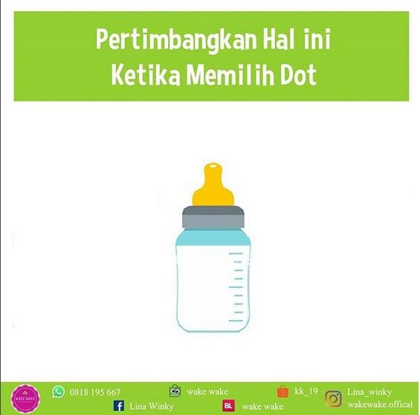 Cara Memilih Botol dan Dot untuk si Kecil