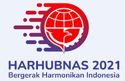 logo harhubnas hari perhubungan nasional resmi 2021 PNG - kanalmu