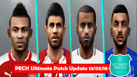 PES 6 PECH Ultimate Patch 2018 Update - RELEASED (13/03/2018)