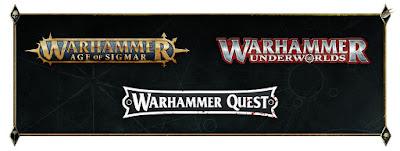 Age of Sigmar, Warhammer Underworlds y Warhammer Quest