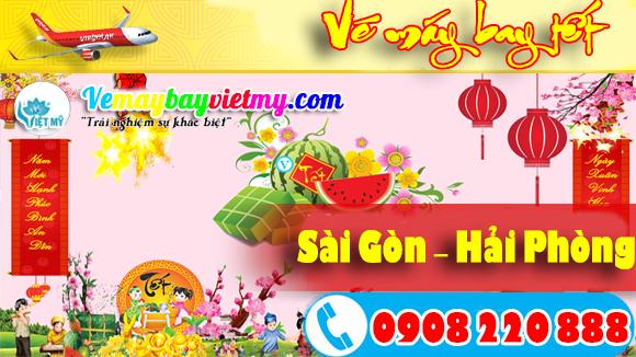 Vé máy bay tết Sài Gòn Hải Phòng