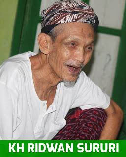 Foto Kiyai Ridwan Sururi (Kyai Iket) kedungbanteng