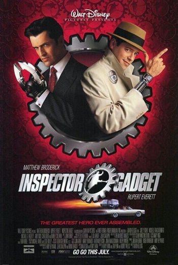 Inspector Gadget 1999 Dual Audio Hindi 480p HDRip – 300mb