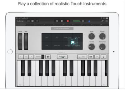 تحميل تطبيق GarageBand لصناعة الموسيقى و تسجيل الصوت