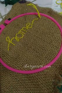 Cara Membuat Hoop art untuk pemula