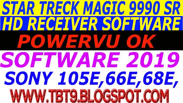 STAR TRECK HD MAGIC  9990 SR 1506T & 1506F  WIFI POWERVU OK NEW SOFTWARE